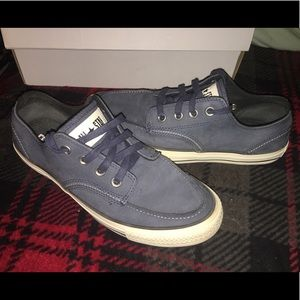 Converse All Star suede shoes